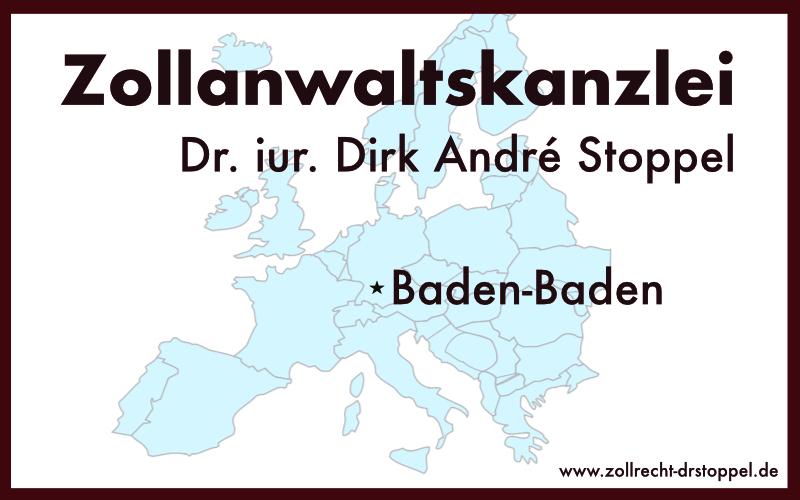 Zollanwaltskanzlei Dr. iur. Dirk André Stoppel